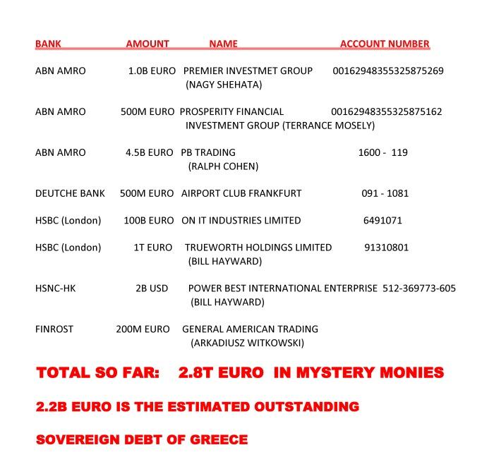 mystery money 24 juni 2011